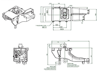 925 Series - Horizontal Gear Shifter System - 2