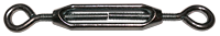 eye and eye zinc steel turnbuckle