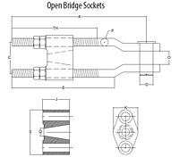 Open-Bridge-Sockets-ASTM-A148