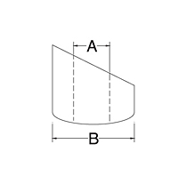 Dimensional Drawing for Angle Washer