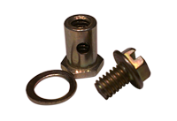 zinc plated swivel assembly