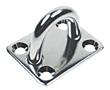 T304 Stainless Steel Formed and Welded Square Pad Eyes